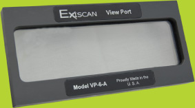 Exiscan Viewing Window